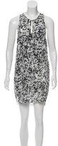 3.1 Phillip Lim Silk Abstract Dress