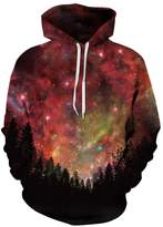 AMOMA New 3d Digital Print Athletic Sweaters Hoodie Hooded Sweatshirts (Small/Medium, )