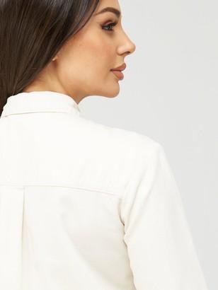 Very EssentialDenim Look Shirt - Ecru