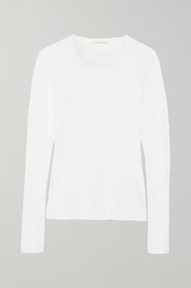 James Perse Slub Cotton Top - White