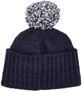 The Elder Statesman Men's Twist Cashmere Pom-Pom Cap