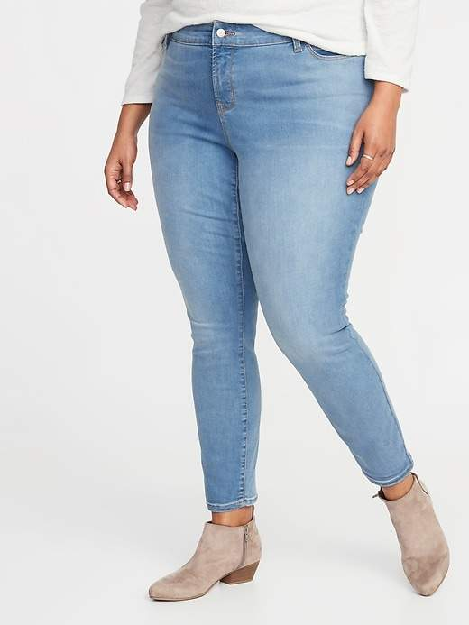 a7286386652aa4 Old Navy Blue Plus Size Jeans - ShopStyle