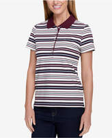Tommy Hilfiger Quincy Striped Polo Top, Created for Macy's