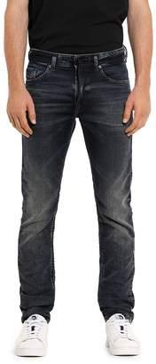 Diesel Thommer CB-NE Slim Fit Sweat Jeans in Denim