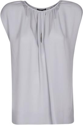 Helmut Lang Cap Sleeve Blouse