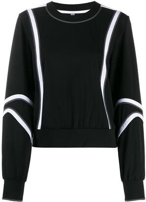 NO KA 'OI Stitching Detail Performance Sweatshirt