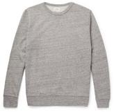 Hartford - Mélange Loopback Cotton-jersey Sweatshirt