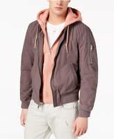 GUESS Men's Boyd Full-Zip Bomber Jacket