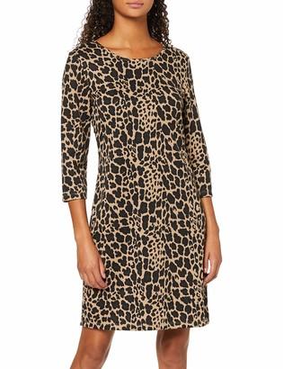 Vero Moda Women's Vmvigga 3/4 Plain Short Dress AOP Color