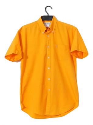 Saint Laurent Orange Cotton Shirts