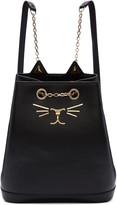 Charlotte Olympia Black Feline Backpack