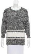 Derek Lam 10 Crosby Knit Striped Sweater