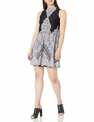 Tiana B T I A N A B. Women's Printed Trapeze Dress