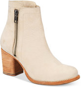 Frye Women's Addie Double-Zip Block-Heel Booties