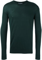 Dolce & Gabbana crew neck sweater - men - Silk - 50