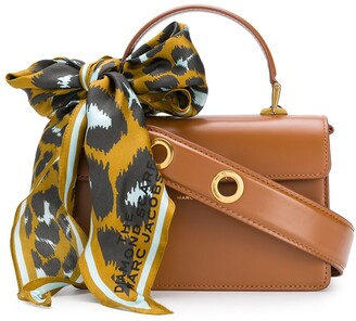 Marc Jacobs The Downtown scarf-embellished tote