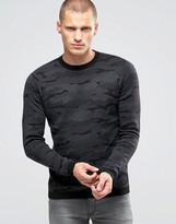 Jack and Jones Knitted Camo Sweater