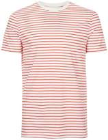 Topman Red And White Stripe Shirt
