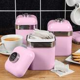 Swan Retro Range - Set of 3 Storage Canisters