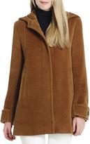 Jones New York Wool Coat with Hood