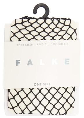 Falke Classic Fishnet Socks - Womens - Black