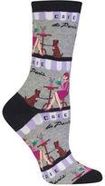 Hot Sox Cafe Socks