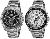 Invicta Men's Speedway Chronograph Stainless Steel with Colored Dial