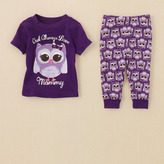 Children's Place Owl pj set