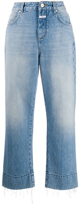 Closed Cropped Wide-Leg Jeans