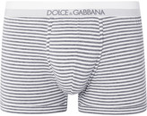 Dolce & Gabbana - Striped Stretch-cotton Boxer Briefs