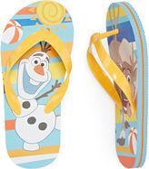 Disney Collection Olaf Flip Flops - Boys
