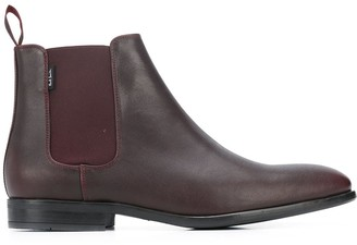 Paul Smith Square Tip Chelsea Boots