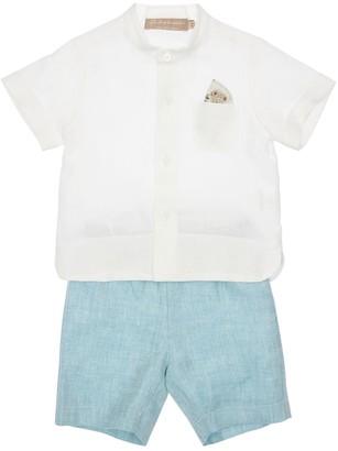 La Stupenderia Linen Shirt & Shorts
