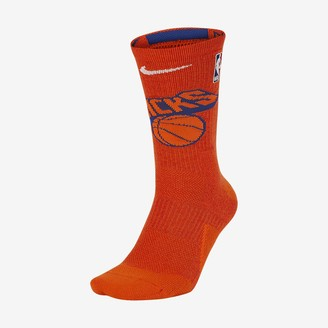 Nike NBA Crew Socks New York Knicks Elite