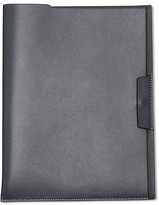 Calvin Klein Collection Bicolor Soft Calf Document Sleeve