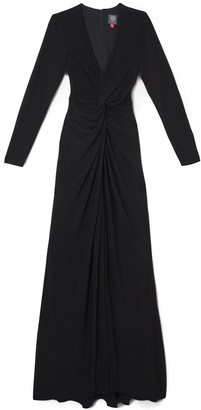 Vince Camuto Knot-Waist Gown