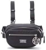 Burberry Cannon Logo-hardware Belt Bag - Mens - Black