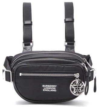 Burberry Cannon Logo-hardware Belt Bag - Black
