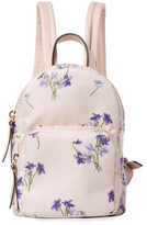 RED Valentino Floral Canvas Mini Backpack