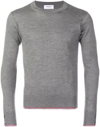 Thom Browne Classic Cashmere crew neck Pullover