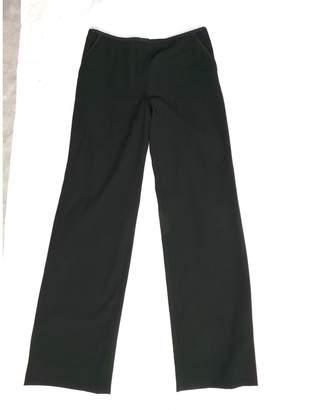 Louis Vuitton Black Wool Trousers