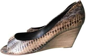 Pierre Hardy Beige Leather Heels