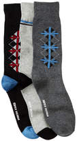 Ben Sherman Flag Argyle Socks - Pack of 3