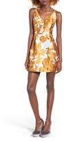 Glamorous Women's Jacquard Fit & Flare Dress