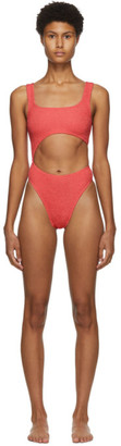 BOUND by Bond-Eye Pink The Maya One-Piece Swimsuit