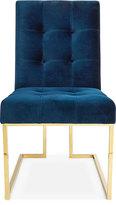 Jonathan Adler Goldfinger Navy Dining Chair