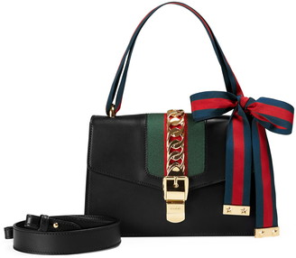 Gucci Small Sylvie Leather Shoulder Bag