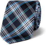 Calvin Klein Plaid Check Tie