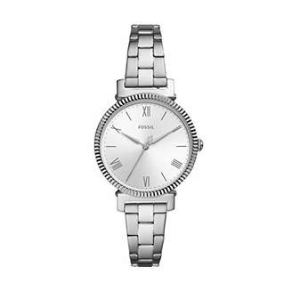 Fossil Women's Daisy 3 Hand Quartz Watch with Stainless Steel Strap