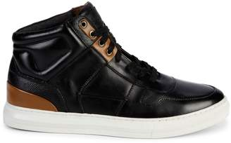 Steve Madden Sharper Leather Sneakers